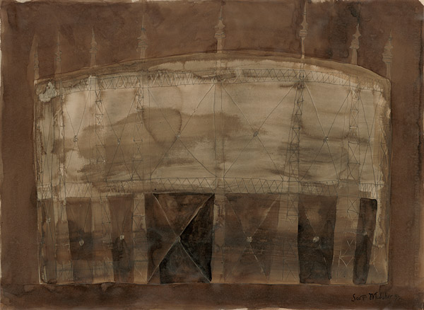 Gasometer Drawing 16