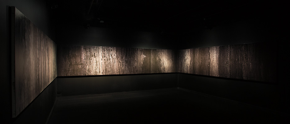 score for a mineral landscape (installation view 1)