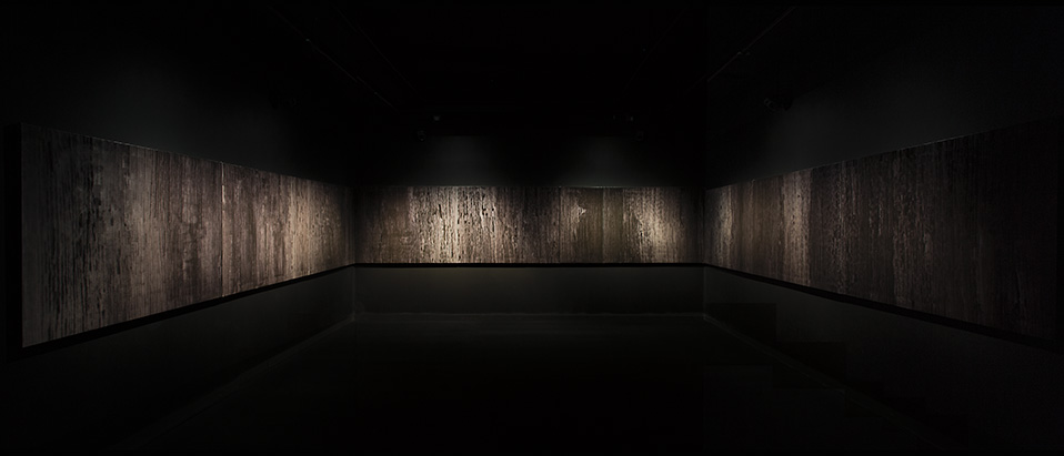 score for a mineral landscape (installation view 2)