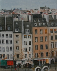 View from Pompidou Museum