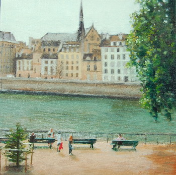 View across the Seine