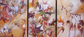 Where the Leaves fall(Triptych)