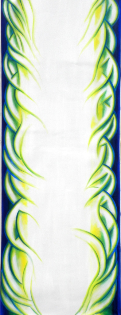 Pillar of Fire - Study for a Liturgical Banner for after Pentecost