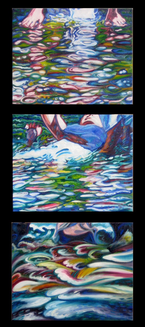 Baptismal Waters: Colour studies.