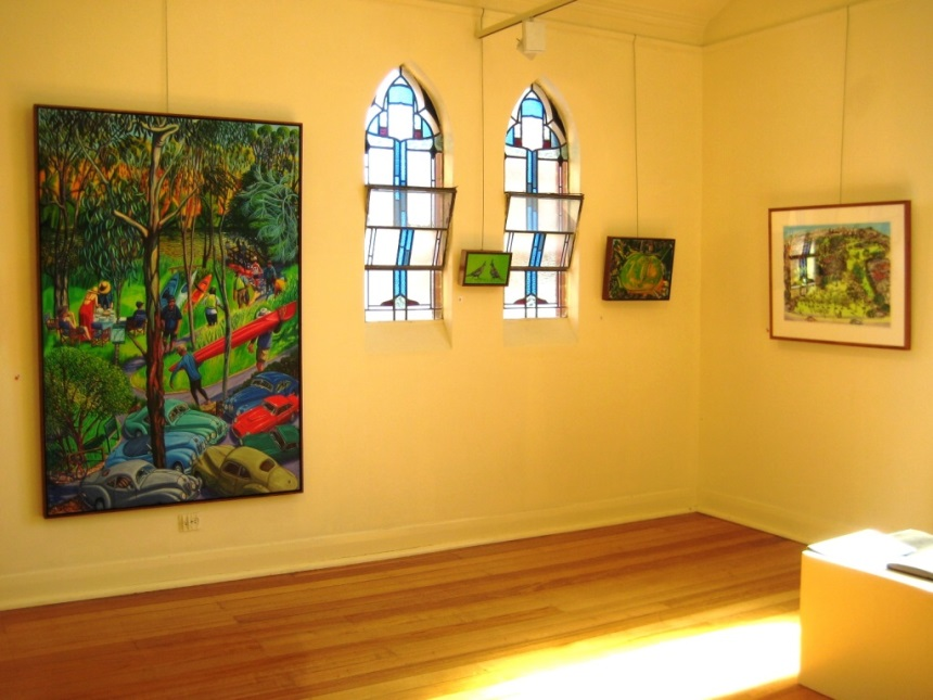 Chapel on Station Gallery interior