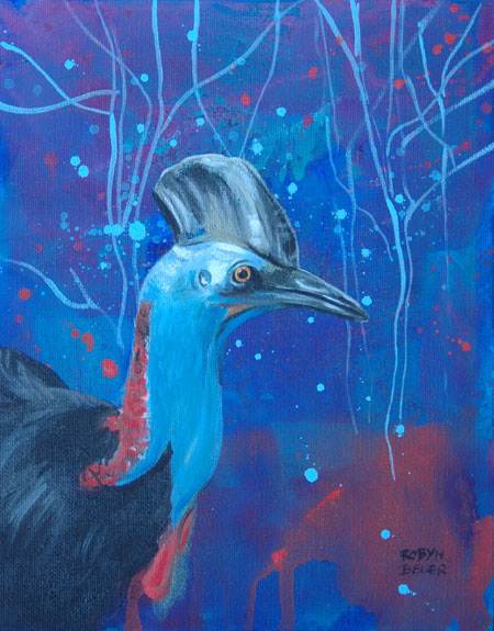 Into the Forest Dim - Discovery Specimen 1 - Cassowary