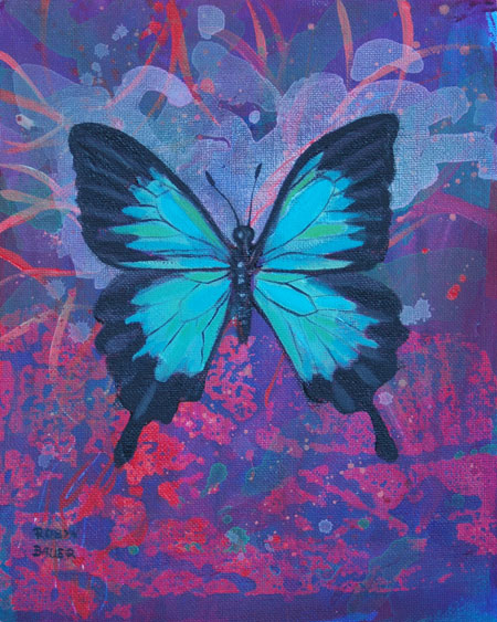 Tender is the Night - Discovery Specimen 5 - Ulysses Butterfly