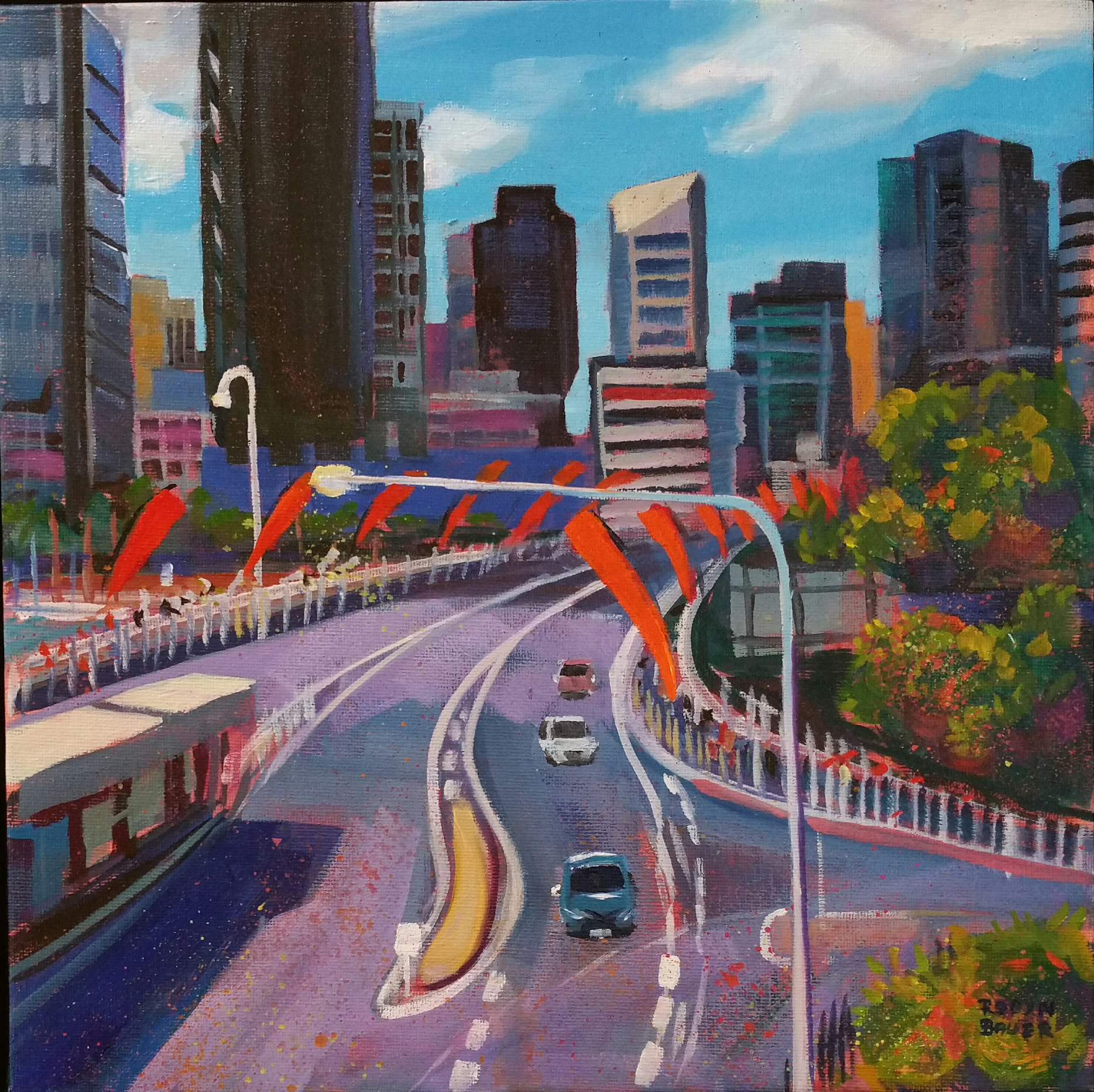 Brisbane loves its banners,Victoria Bridge