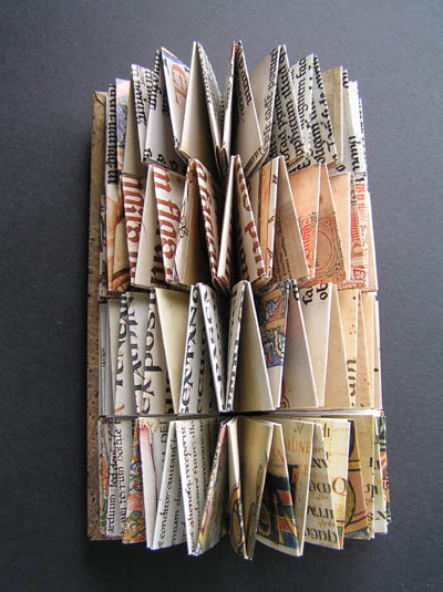 From book to book sculpture