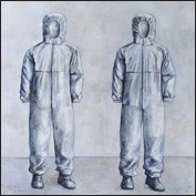 Artist  Nick Ashby Title  empty suits Year  2011 Medium  oil Support  linen Height  183cm Width  183cm
