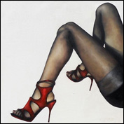 Artist 	Trisha Lambi Title 	Emancipation Year 	2011 Medium 	Oil on Linen Height 	75 cm Width 	75 cm
